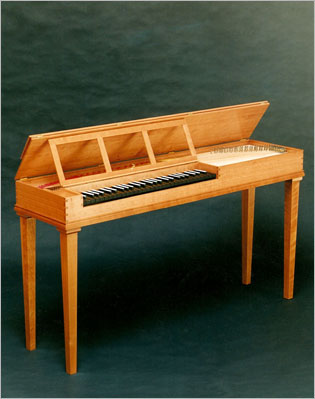 Double-fretted Clavichord After Hubert